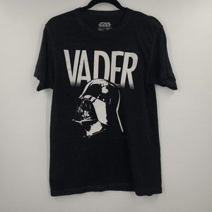 Star Wars Vader Burn Out Graphic Tee S